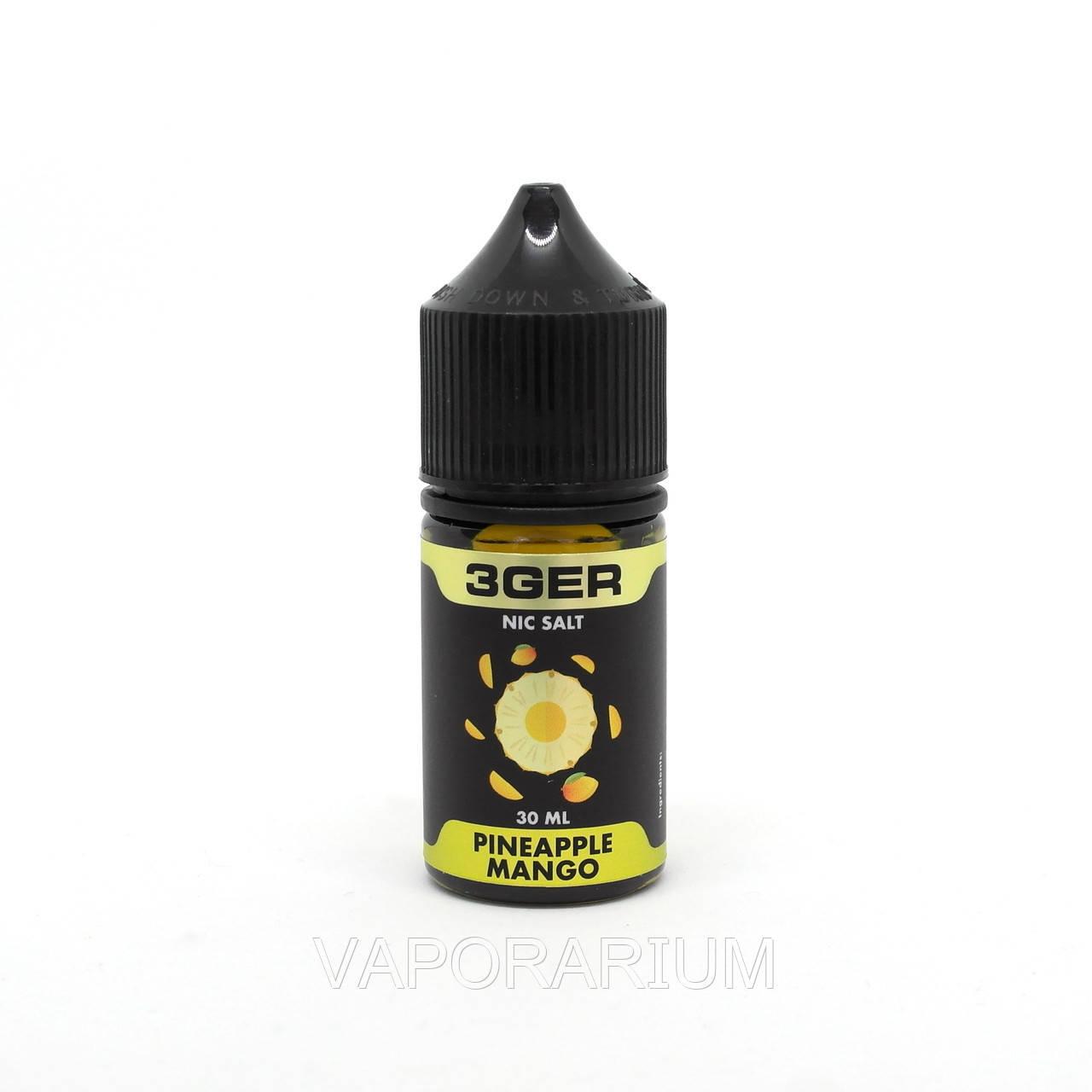 Жидкость для электронных сигарет 3Ger Salt Pineapple Mango 35 мг 30 мл