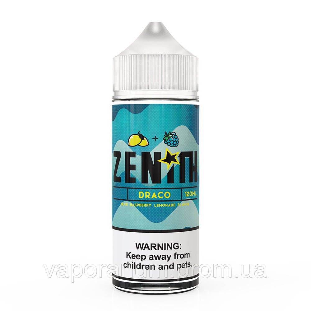 Жидкость для электронных сигарет Zenith Draco 0 мг 120 мл