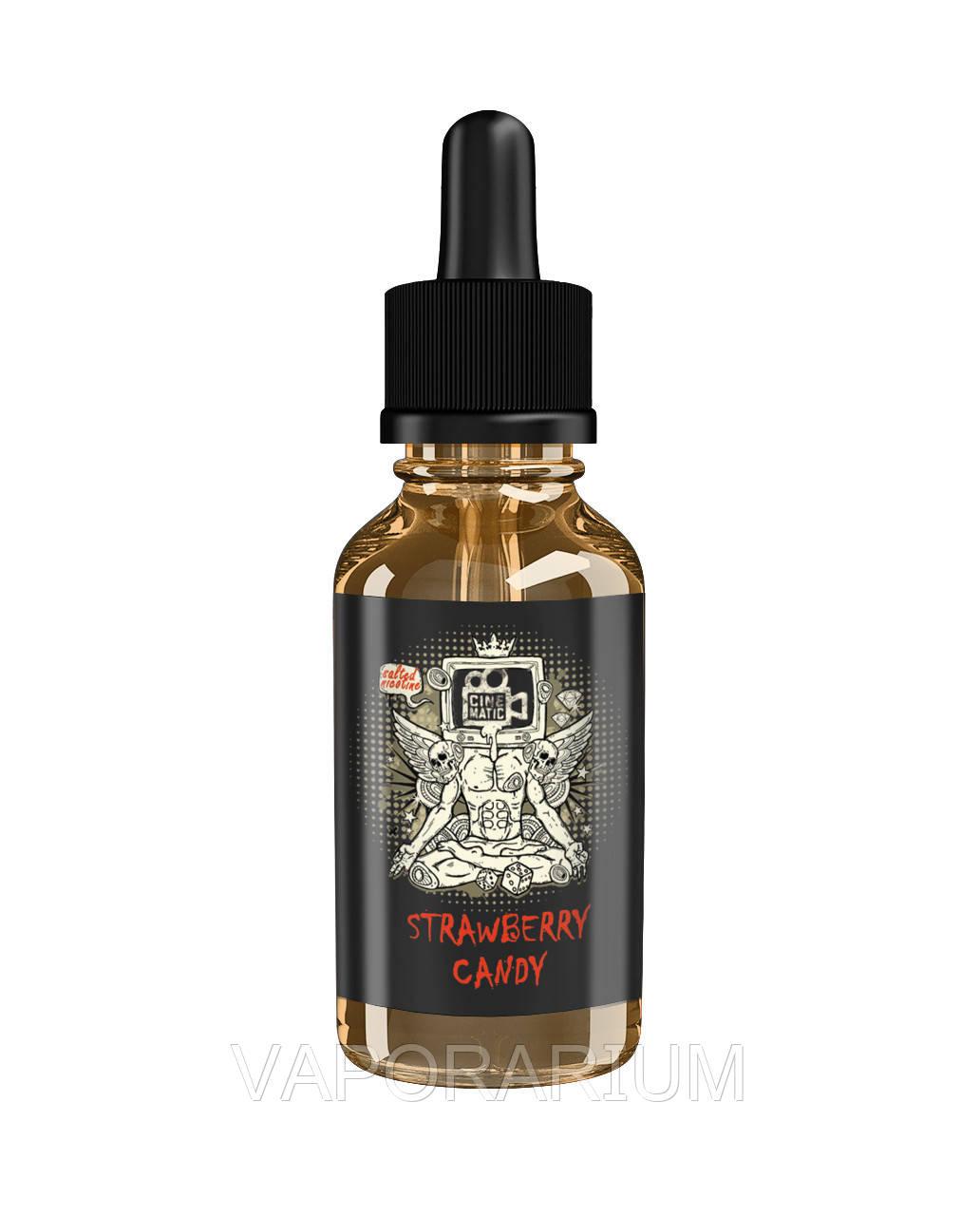 Жидкость для электронных сигарет Cinematic Salted Strawberry Candy 25 мг 30 мл