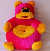 Детский пуфик Медведь 60*55 см