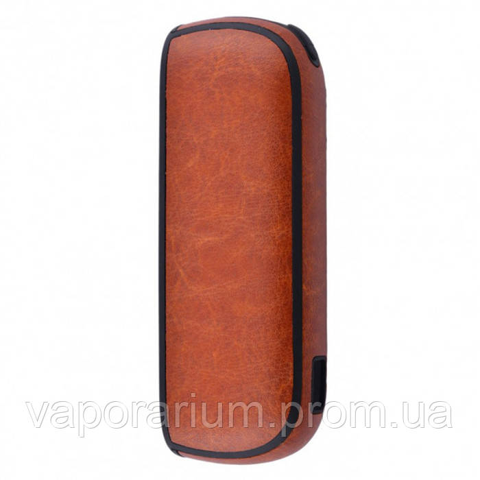 Чехол Leather Case for IQOS 3 Brown