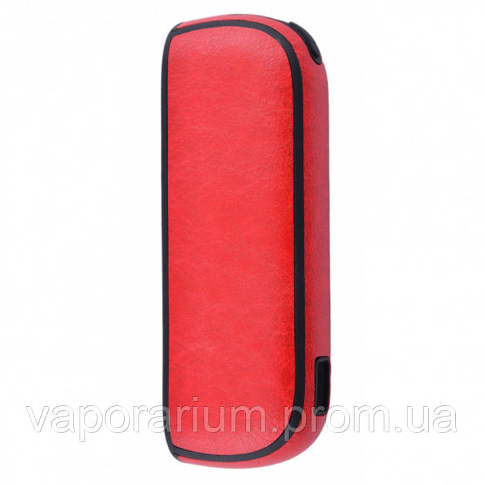 Чехол Leather Case for IQOS 3 Red