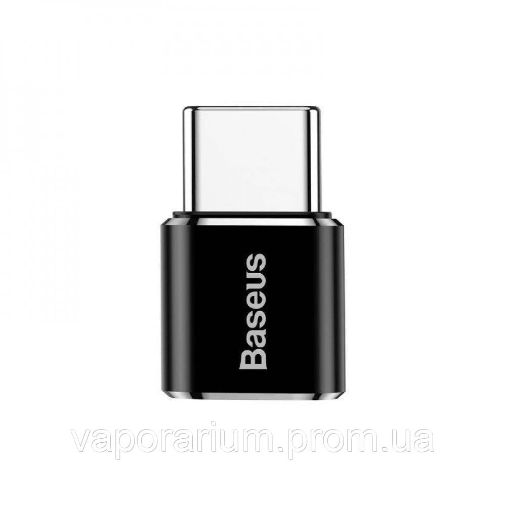 Переходник Baseus Type-C to Micro USB black
