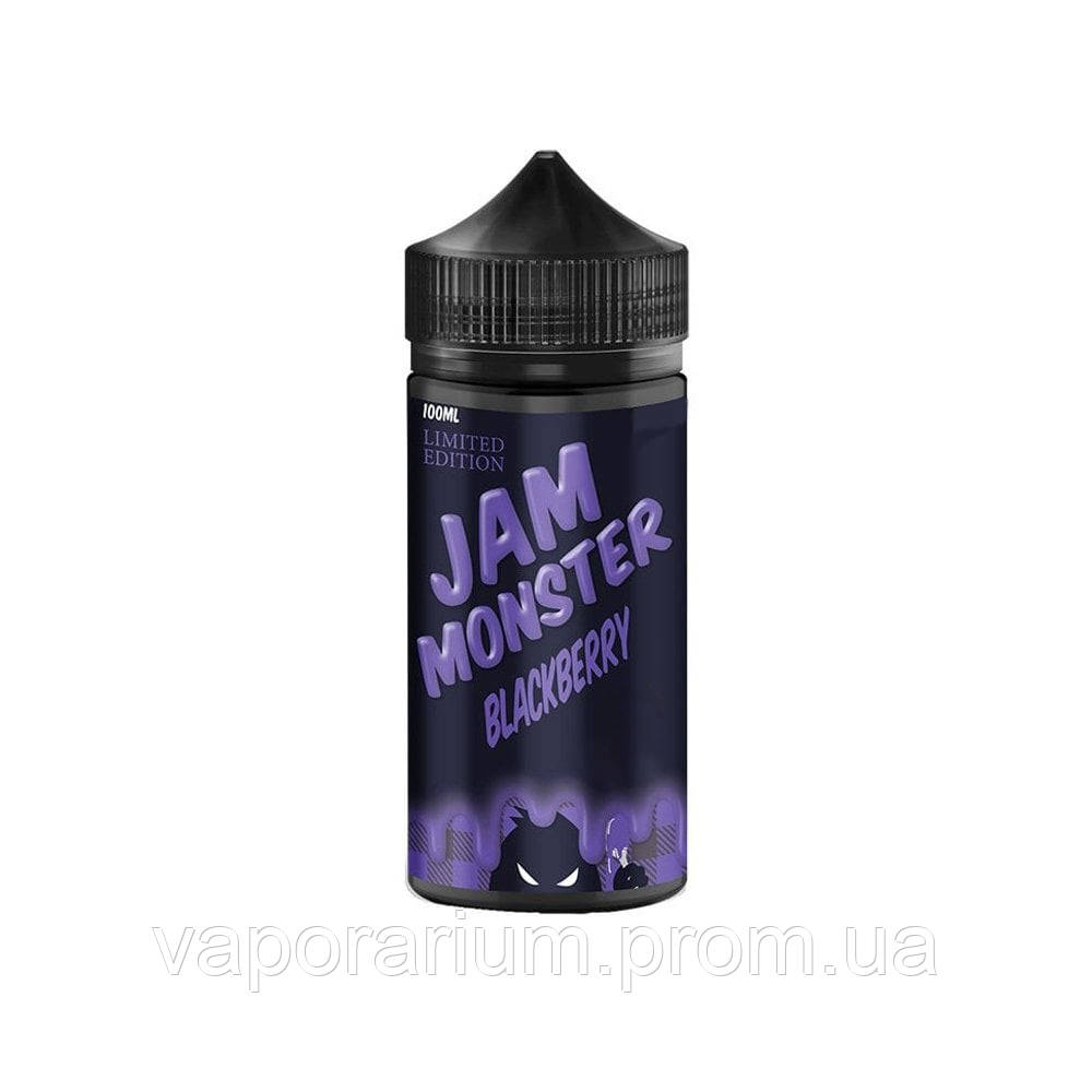 Жидкость для электронных сигарет Jam Monster Blackberry LE 0 мг 100 мл