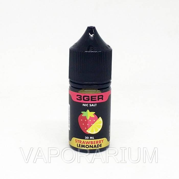 Жидкость для электронных сигарет 3Ger Salt Strawberry Lemonade 25 мг 30 мл