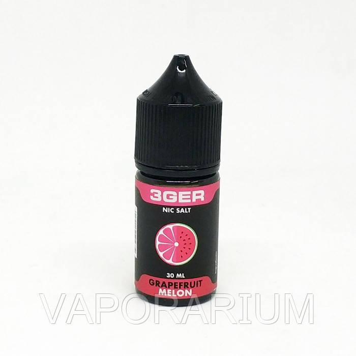 Жидкость для электронных сигарет 3Ger Salt Grapefruit Melon 25 мг 30 мл