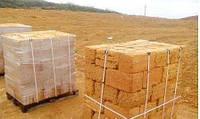 Камень из ракушняка на палетах (поддонах) для строительства дома