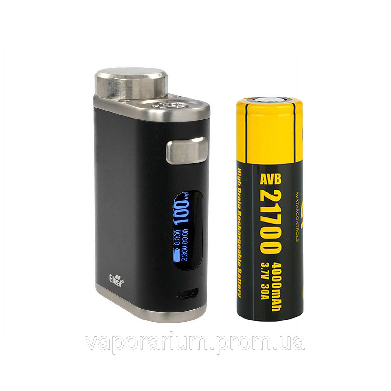 Батарейный мод Eleaf iStick Pico 21700 100W 4000 мАч Black