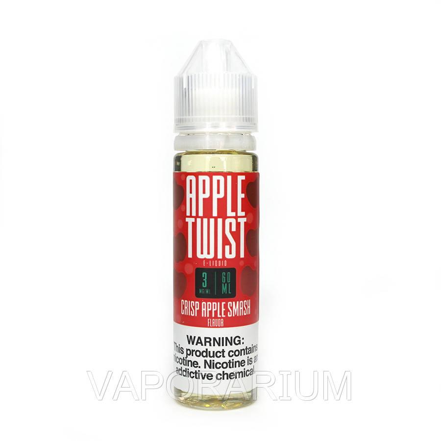 Жидкость для электронных сигарет Apple Twist Crisp Apple Smash 3 мг 60 мл