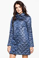 Демисезонная куртка с отложным воротником, застегивается на двухходовую металлическую молнию с 42 по 54 размер, фото 1