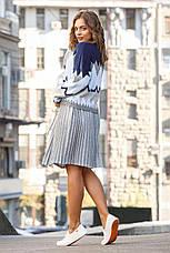 Вязаный женский юбочный костюм, фото 3