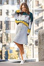 Вязаный женский юбочный костюм, фото 2