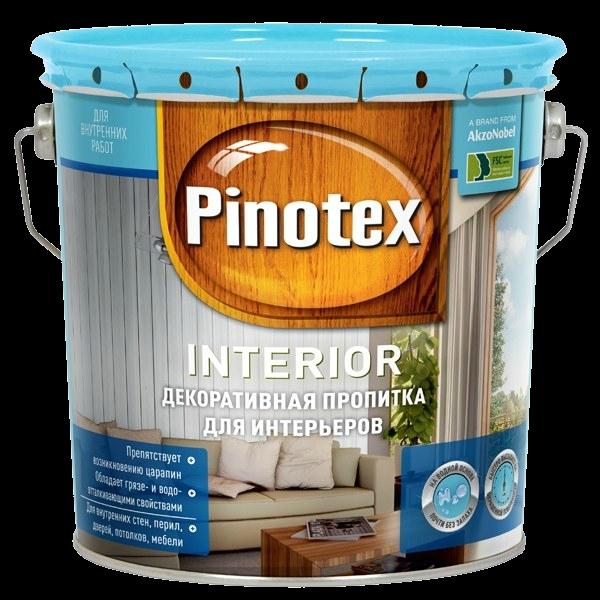 Pinotex Interior 3л, снег