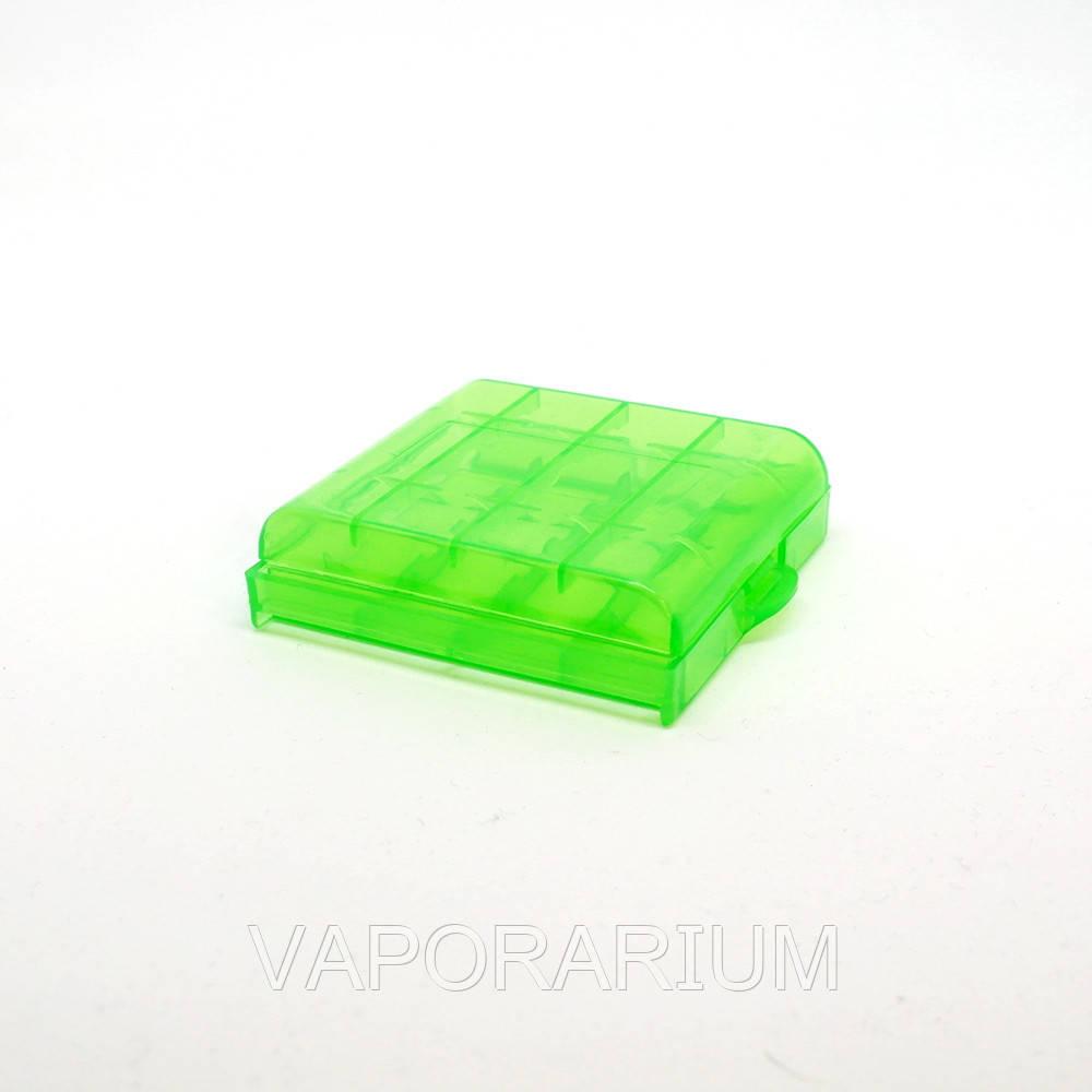 Кейс для аккумуляторов HQ-Tech AA/AAA Green