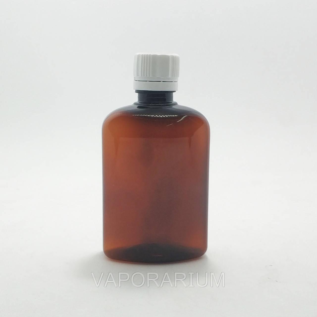 Бутылочка для жидкости с крышкой темная 100 мл