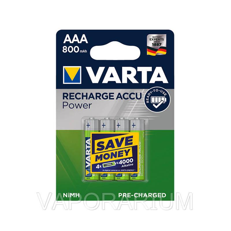 Акумулятор Varta R2U 56703 800 мАч блістер 4 шт