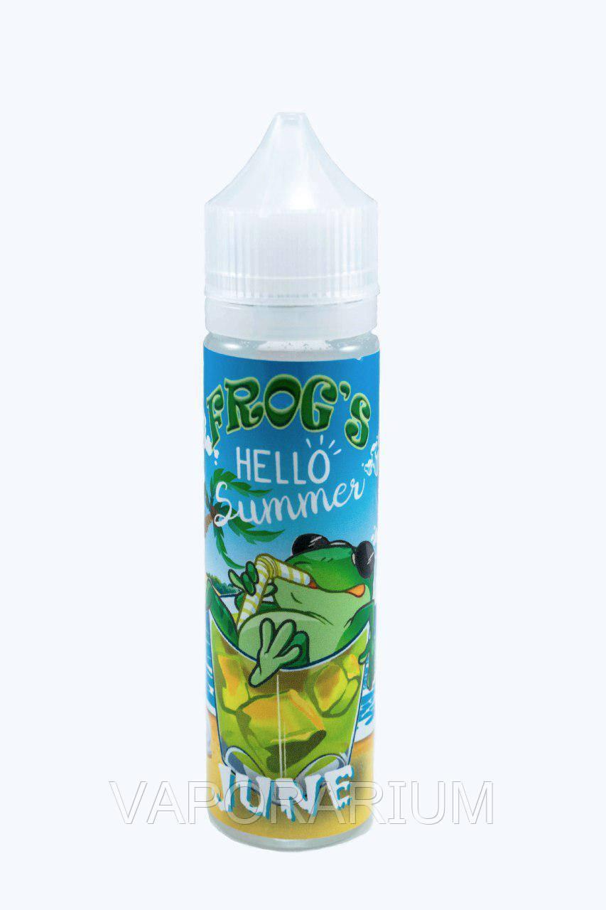Жидкость для электронных сигарет Frog From Fog June 0 мг 60 мл