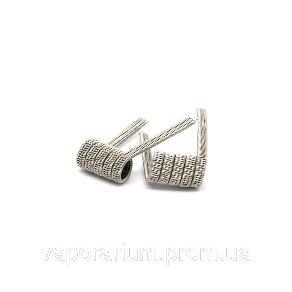 Комплект спиралей Hungry Coils Triple Staggered Fused Clapton № 300 2 шт 0.38 Ом