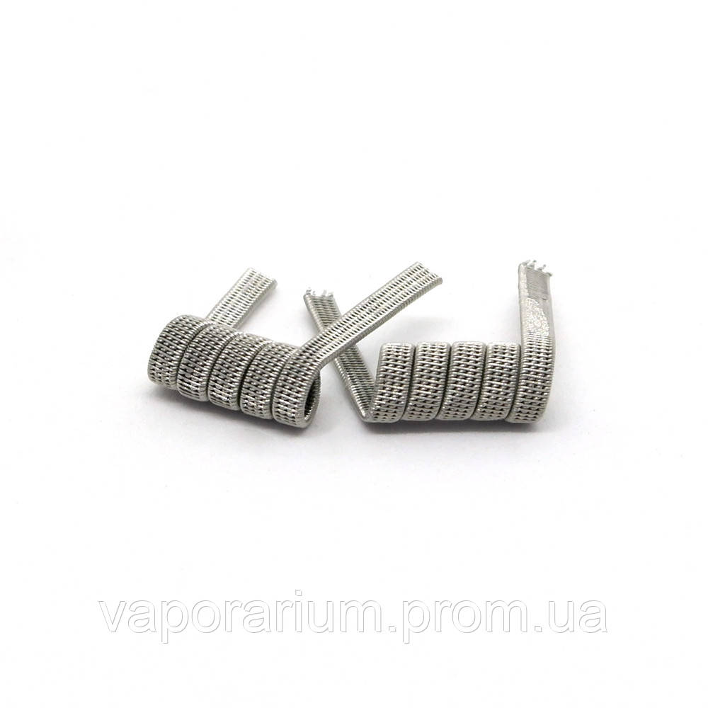 Комплект спиралей Hungry Coils Quatro Staggered Fused Clapton № 307 2 шт 0.32 Ом