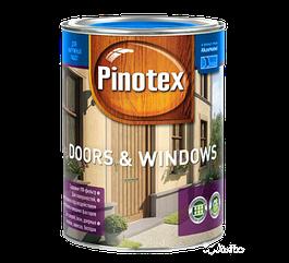 Pinotex Doors & Windows 1л, бесцветный