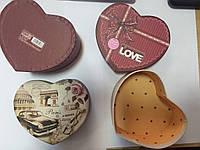 Коробка подарочная в форме сердца
