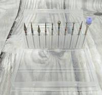 Набор фрез для аппаратного маникюра (10 штук)