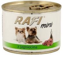 Dolina Noteci Rafi 185г консерва с ягненком для собак мелких пород