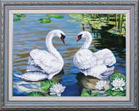 Набор для вышивания бисером пейзаж. Озеро надежды МК Б-239