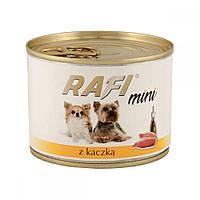Dolina Noteci Rafi 185г консерва с уткой  для собак мелких пород
