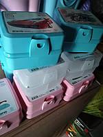 Ланчбокс двойной Турция  ланч бокс контейнер, ланч бокс с отделами, фото 1