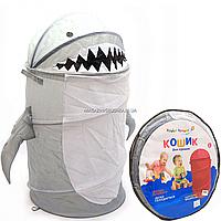 Корзина для игрушек «Країна іграшок» акула 45х80 см (GFP-101/112)