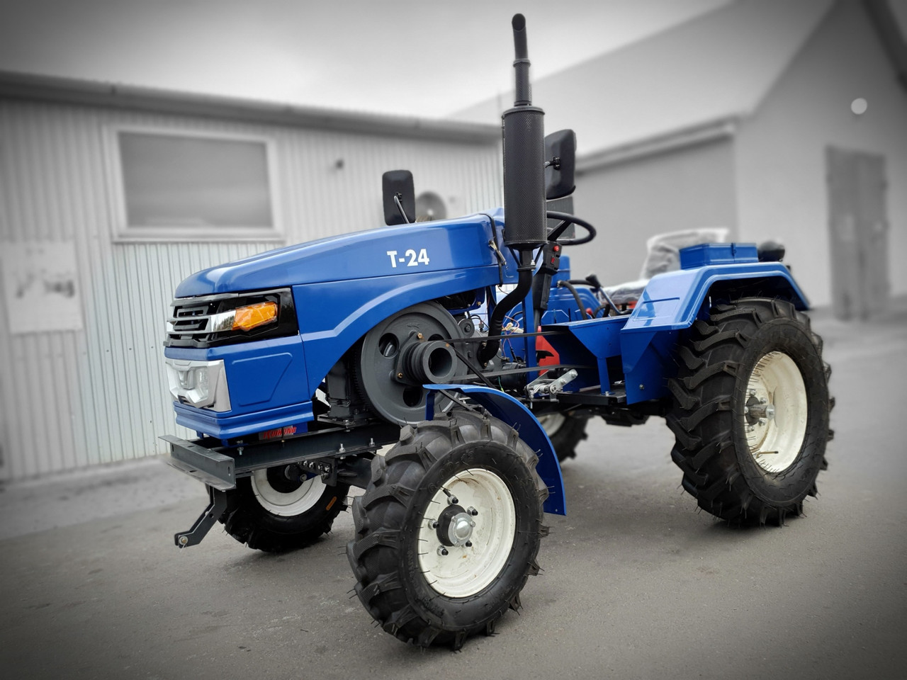 Большой, мощный мототрактор Т-24, 24 лс, почвофреза 140 см, двухкорпусный плуг, лучший минитрактор, супер цена