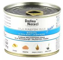 Dolina Noteci Premium 185гр для щенков мелких пород с желудком ягненка и картофелем