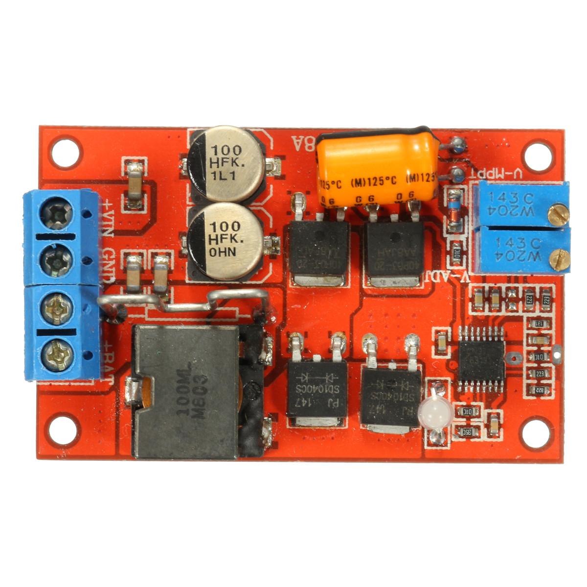 MPPT контролер для сонячних панелей (перетворювач напруги)