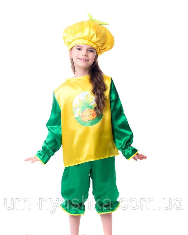 карнавальный костюм Репка, костюм репка