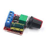Контролер регулятор швидкості обертання двигуна постійного струму 35В, 5А, фото 3