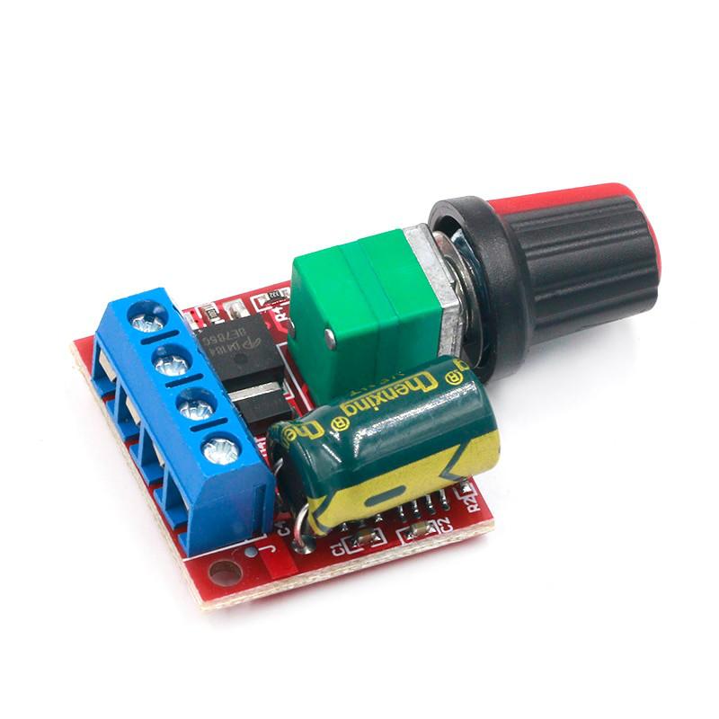 Контролер регулятор швидкості обертання двигуна постійного струму 35В, 5А