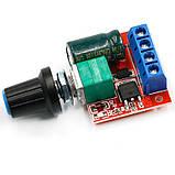 Контролер регулятор швидкості обертання двигуна постійного струму 35В, 5А, фото 5