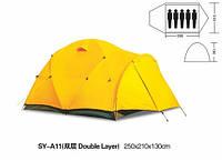 Палатка туристическая  трекинговая 5-местная палатка, 1 комнатa + тамбур