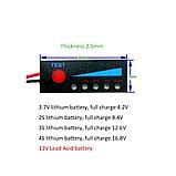 LED плата індикатор заряду / розряду li-ion / Li-pol акумуляторів 4S 16.8 В, фото 7