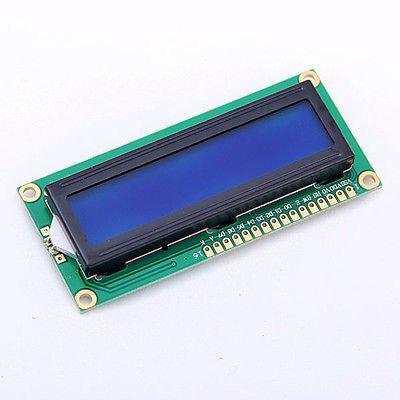 Символьний LCD дисплей 1602 з синім підсвічуванням