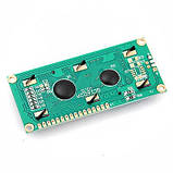 Символьний LCD дисплей 1602 з синім підсвічуванням, фото 2