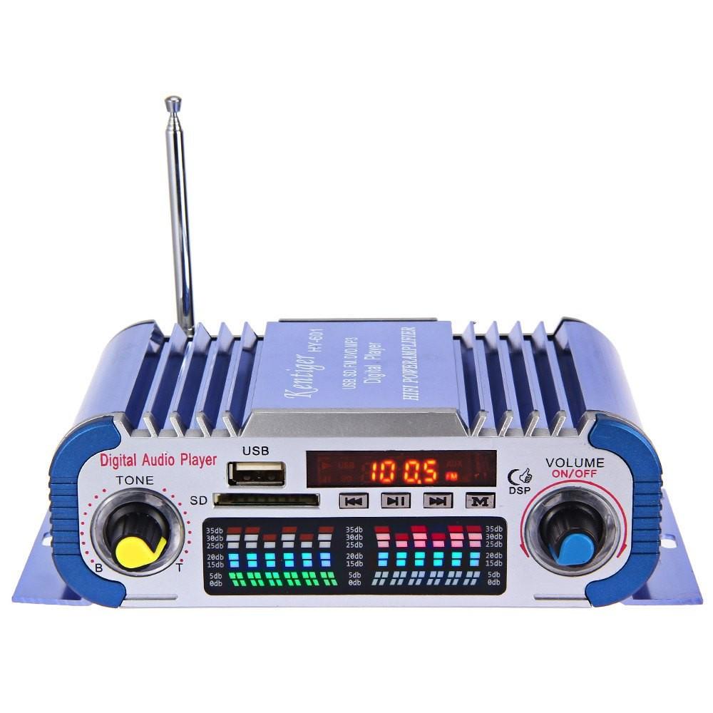 Усилитель с MP3 плеером