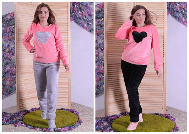 Женская махровая пижама Минни, фото 2