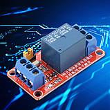 Arduino Модуль, одноканальне реле 5В з опторазвязкой, фото 2