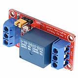 Arduino Модуль, одноканальне реле 5В з опторазвязкой, фото 8