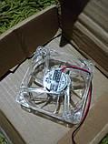 Кулер корпусной с синей подсветкой 12В, фото 4