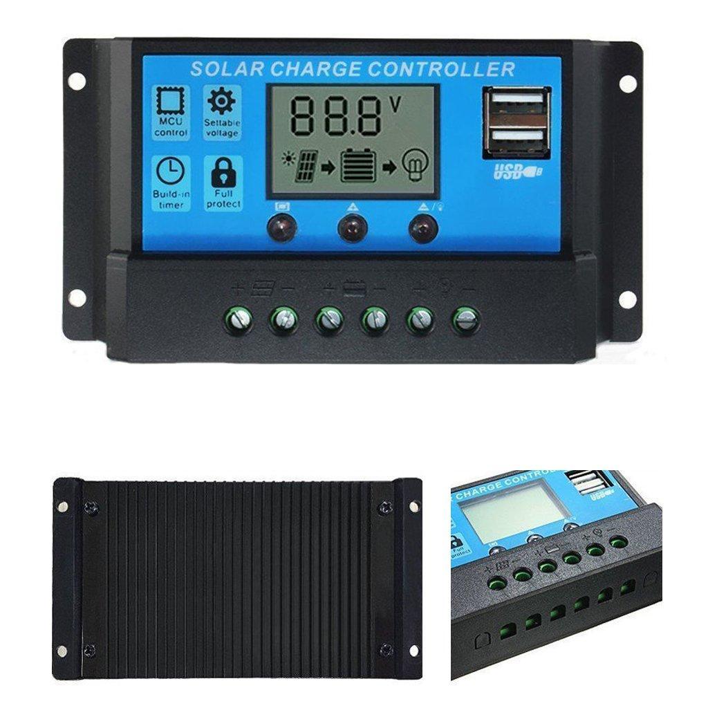 Контролер заряду для сонячних батарей PWM 40А