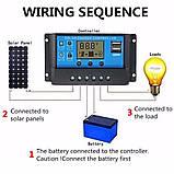 Контролер заряду для сонячних батарей PWM 40А, фото 8