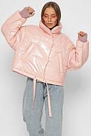 Модная женская Зимняя куртка X-Woyz 8875 размеры 44 48
